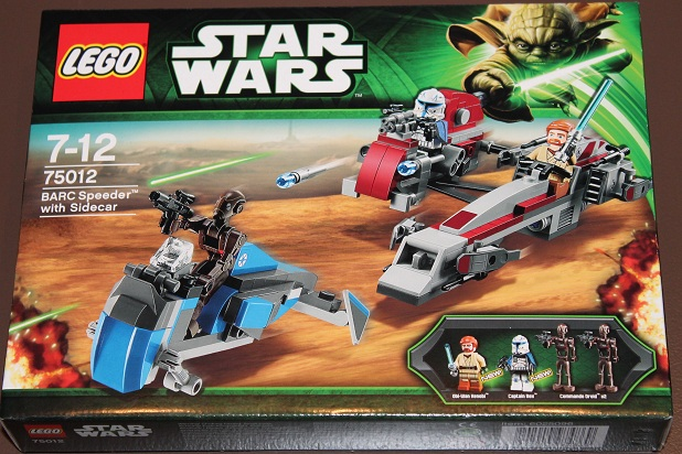 Review 75012 Barc Speeder With Sidecar Lego Star Wars