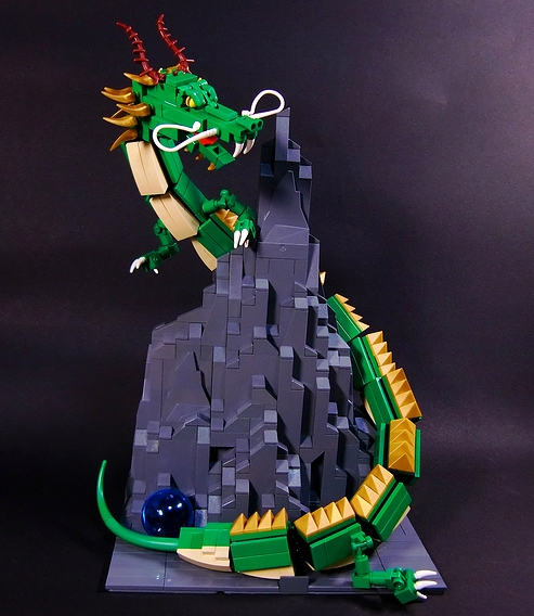 how to build a lego rayquaza