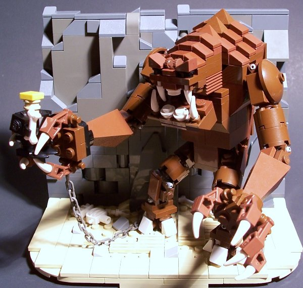 lego wampa cave instructions