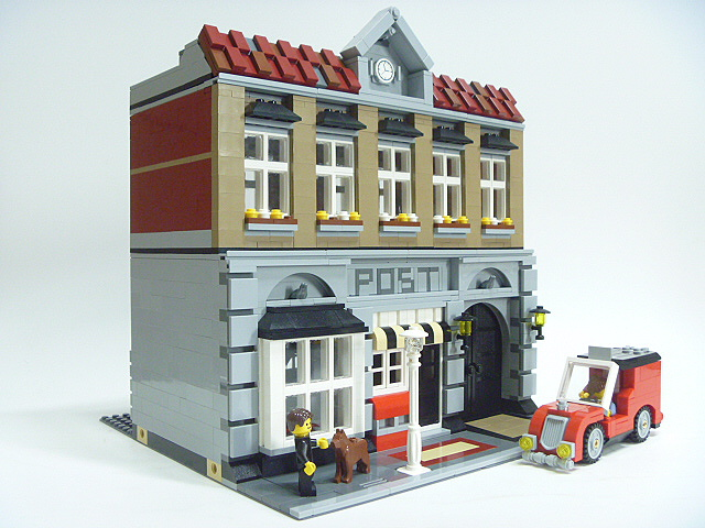 Brick Town Talk: Keep Me Posted - LEGO Town, Architecture