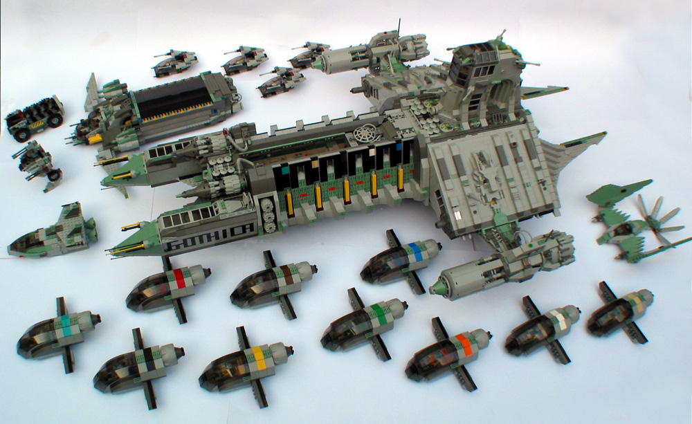 Modular Space Ship Models (page 3) - Pics about space
