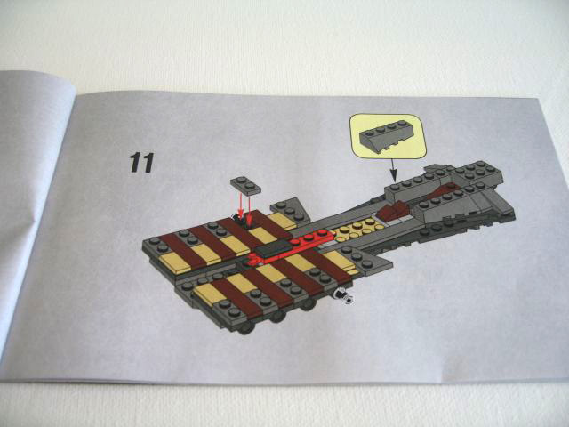 lego general grievous starfighter 7656 instructions