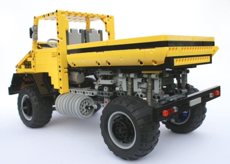 Nienios Lego Technic Unimog U5000 Trial Truck Lego Technic And