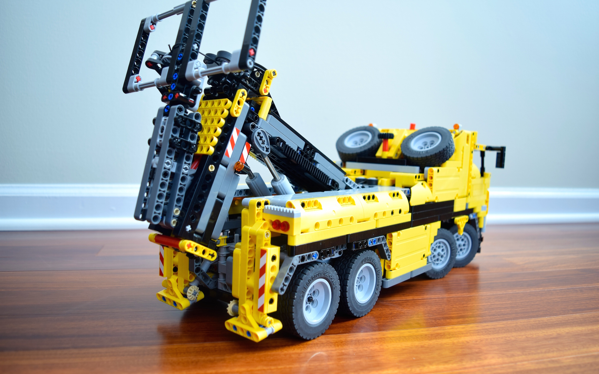 C Model 42009 Tow Truck Lego Technic Mindstorms Model Team