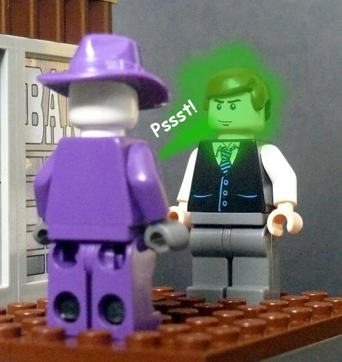 MOC: Service With A Smile! - LEGO Licensed - Eurobricks Forums