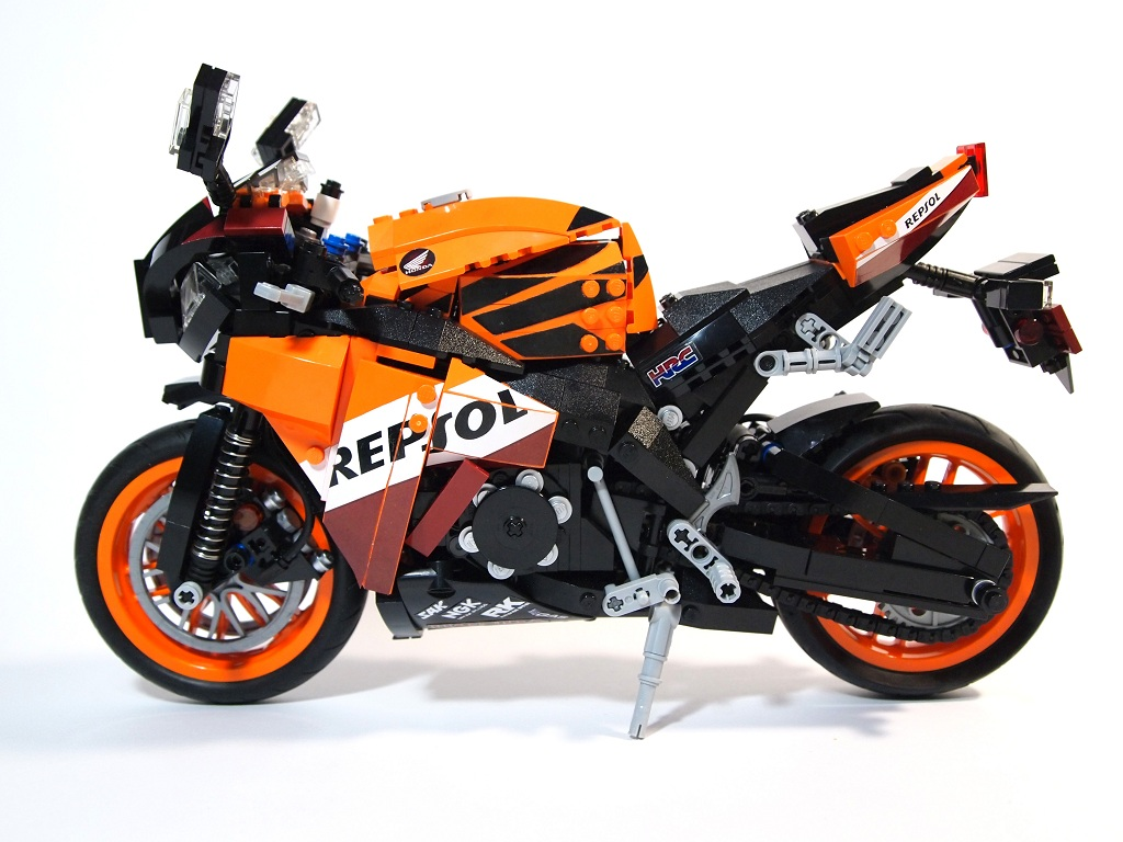 honda cbr1000rr repsol edition lego technic mindstorms. Black Bedroom Furniture Sets. Home Design Ideas