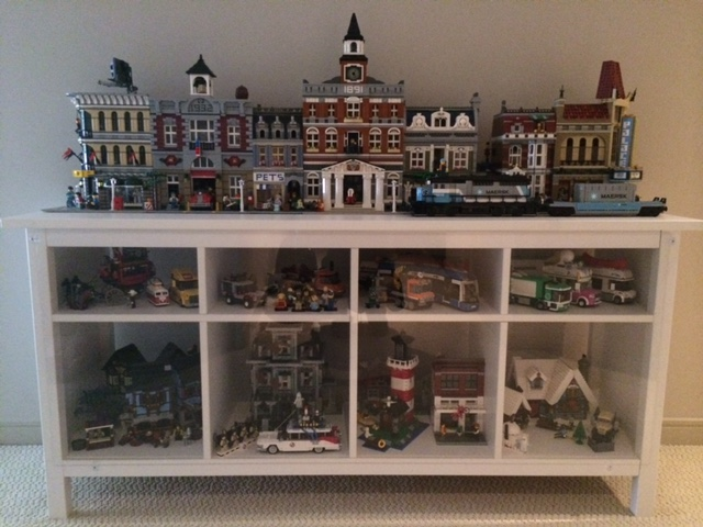 How do you display your modular building collection? - Page 4 - LEGO ...