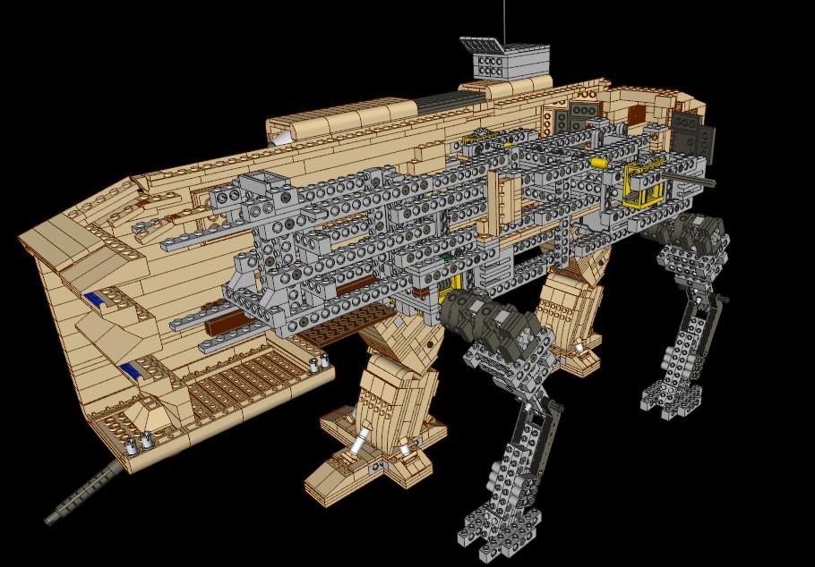 Le char mammouth fan arts command conquer saga - Lego star wars tb tt ...
