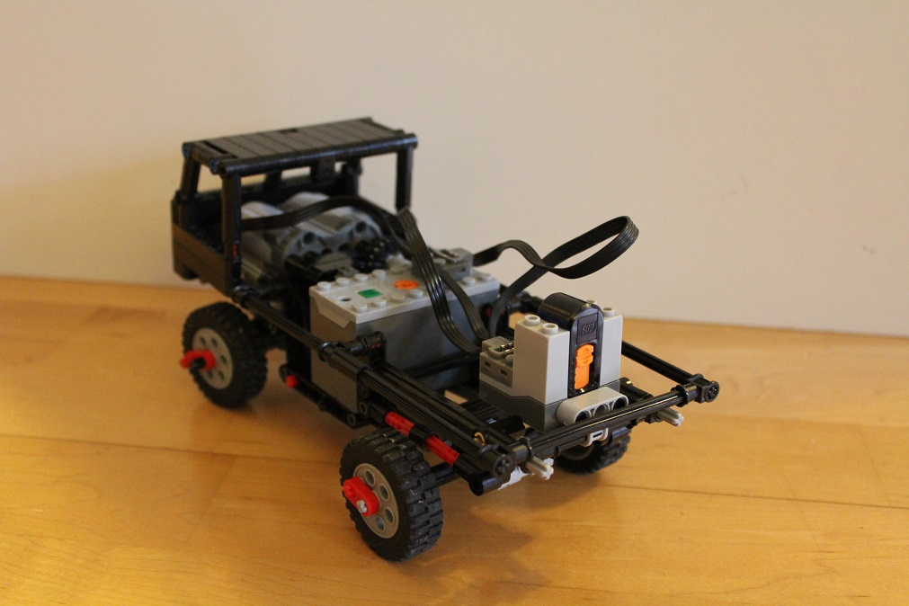 Moc Mini Gaz 66 Trial Truck Lego Technic Mindstorms