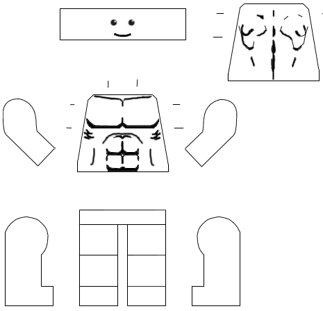 Lego Head Template Have a face with the size