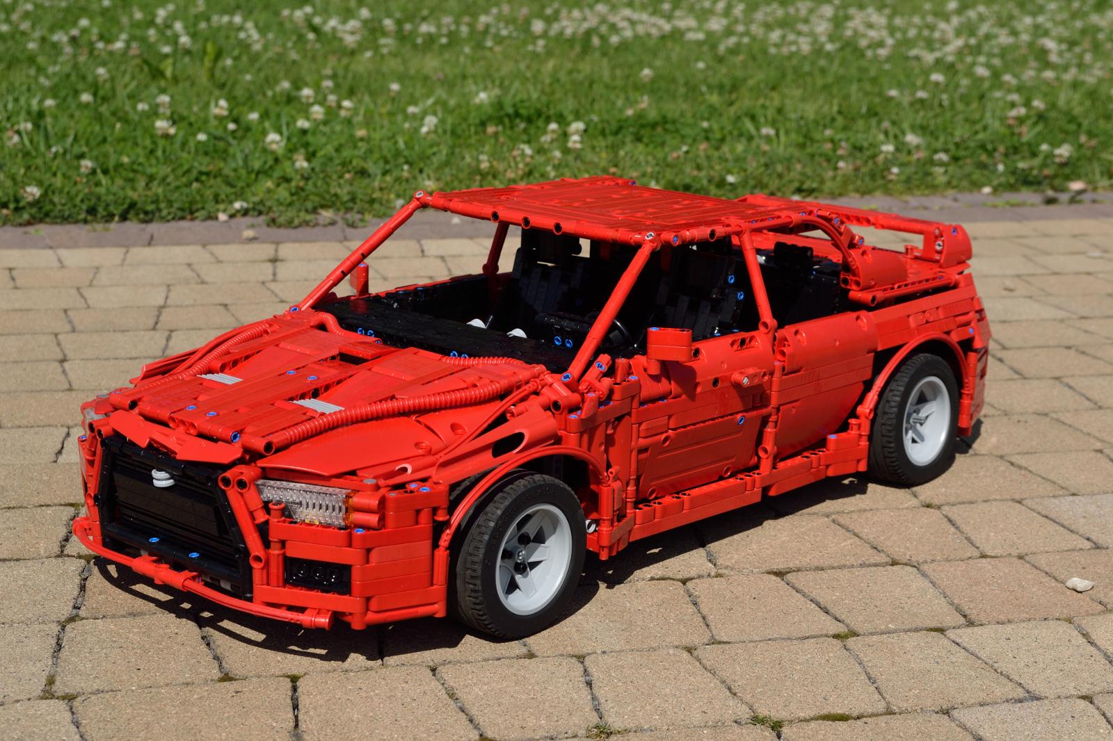 Mitsubishi Lancer Evo X 1:8 - LEGO Technic, Mindstorms & Model Team - Eurobricks Forums