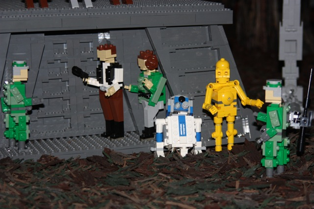 Report Visit To Star Wars Miniland Lego Star Wars Eurobricks Forums
