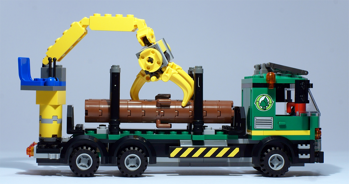 lego logging truck - photo #44