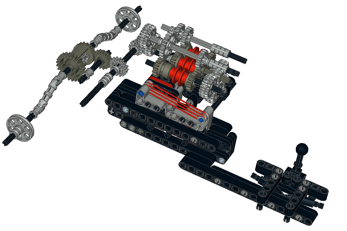 Need Ideas For A Gearbox Lego Technic Mindstorms Model Team