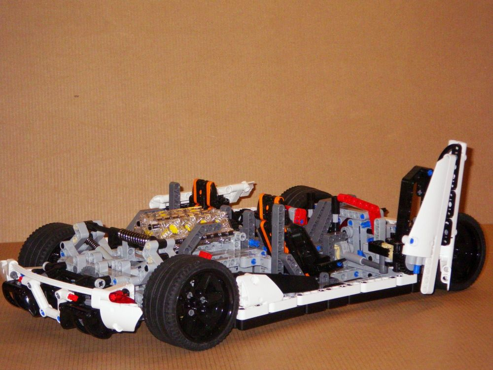 wip koenigsegg one 1 lego technic and model team. Black Bedroom Furniture Sets. Home Design Ideas