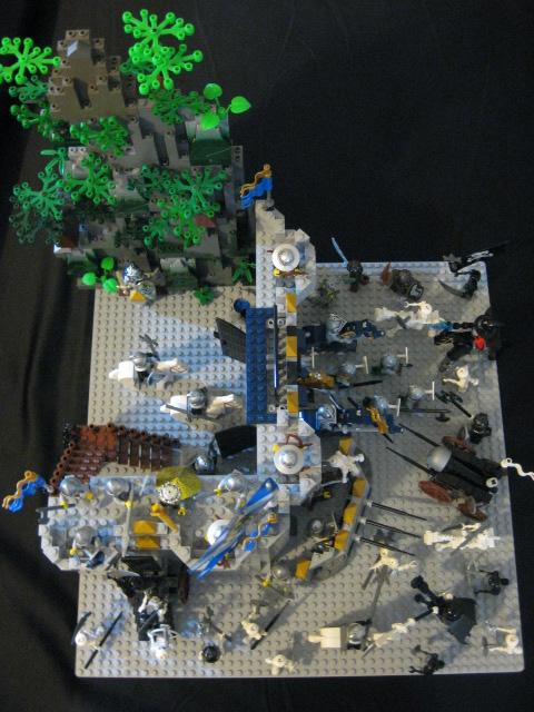 005 岩壁城堡的战争 奇幻城堡