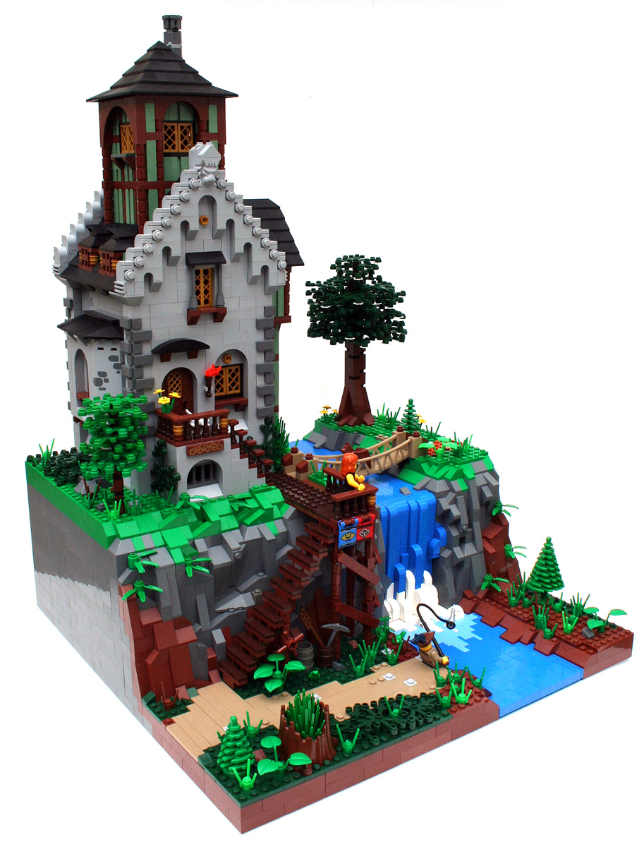 Classic Castle Com View Topic Waterfall House