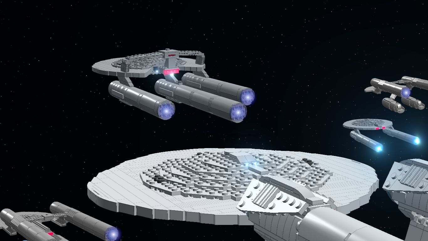 Constitution-class Heavy Cruiser Federation_fleet