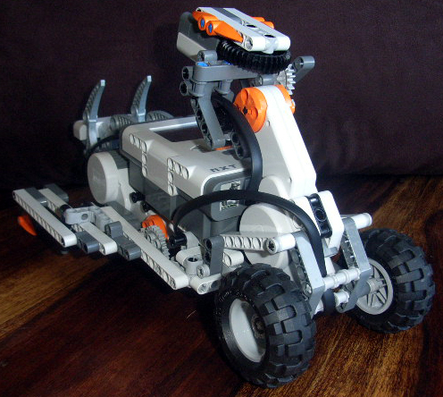 lego mindstorms nxt robot instructions