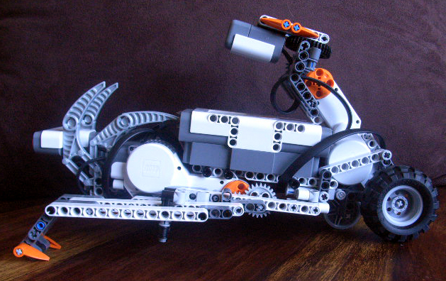 Nxt Crawler By Revi Mindstorms Nxt Building Instructions