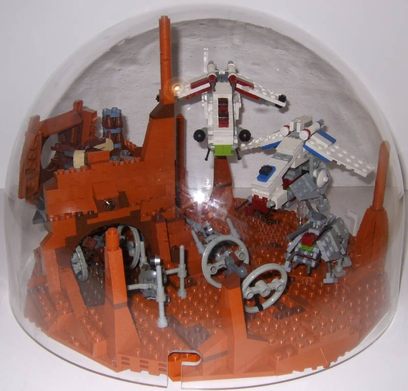 Star Wars in a Bubble! | The Brothers Brick | The Brothers Brick