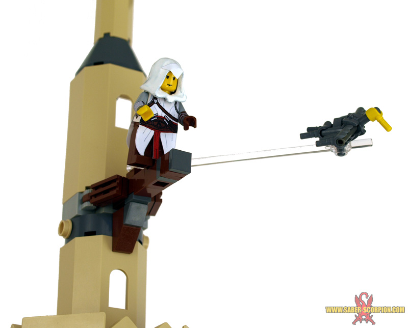 Assassin S Creed Leap Of Faith A Lego Creation By Justin Saber