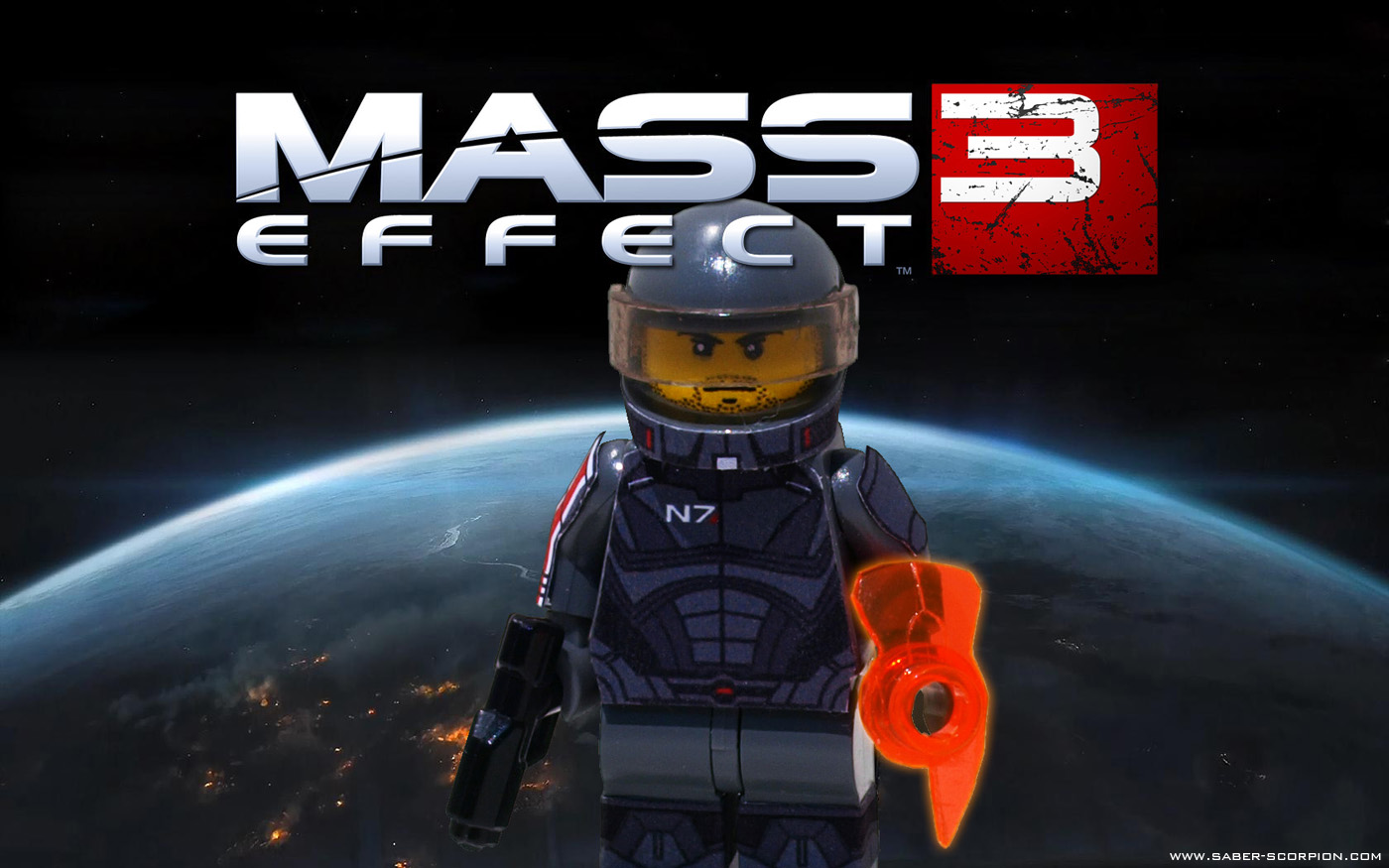 Mass Effect 3 Character Minifigs A Lego 174 Creation By