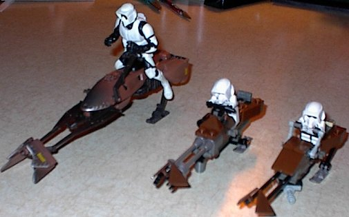 Лего звездные войны как сделать спидер из лего