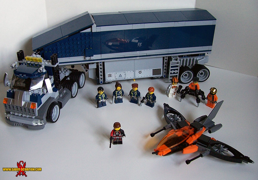 Lego Agents 8635 Mission 6 Mobile Command Center Saber Scorpions
