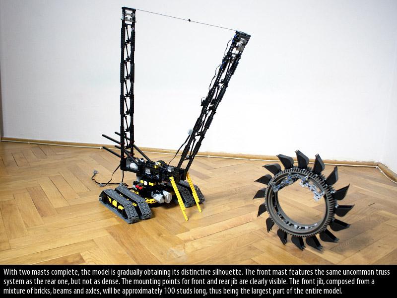 lego bucket wheel excavator instructions