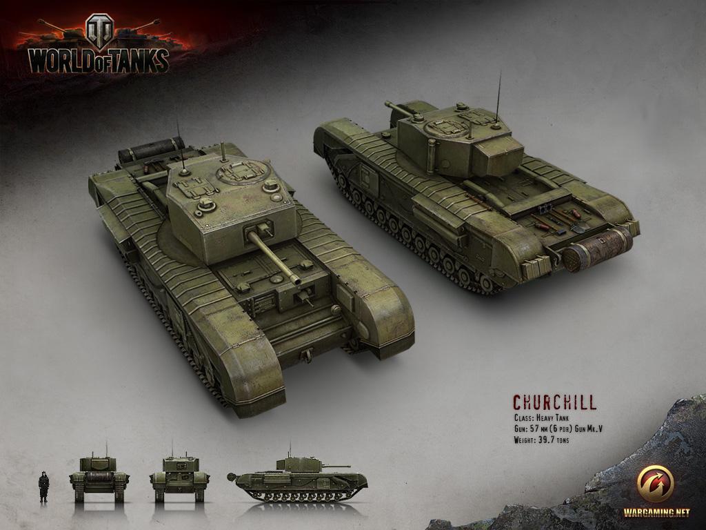 Sariel Pl 187 Churchill Tank