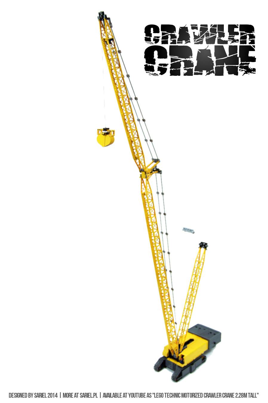 Sariel Pl 187 Crawler Crane