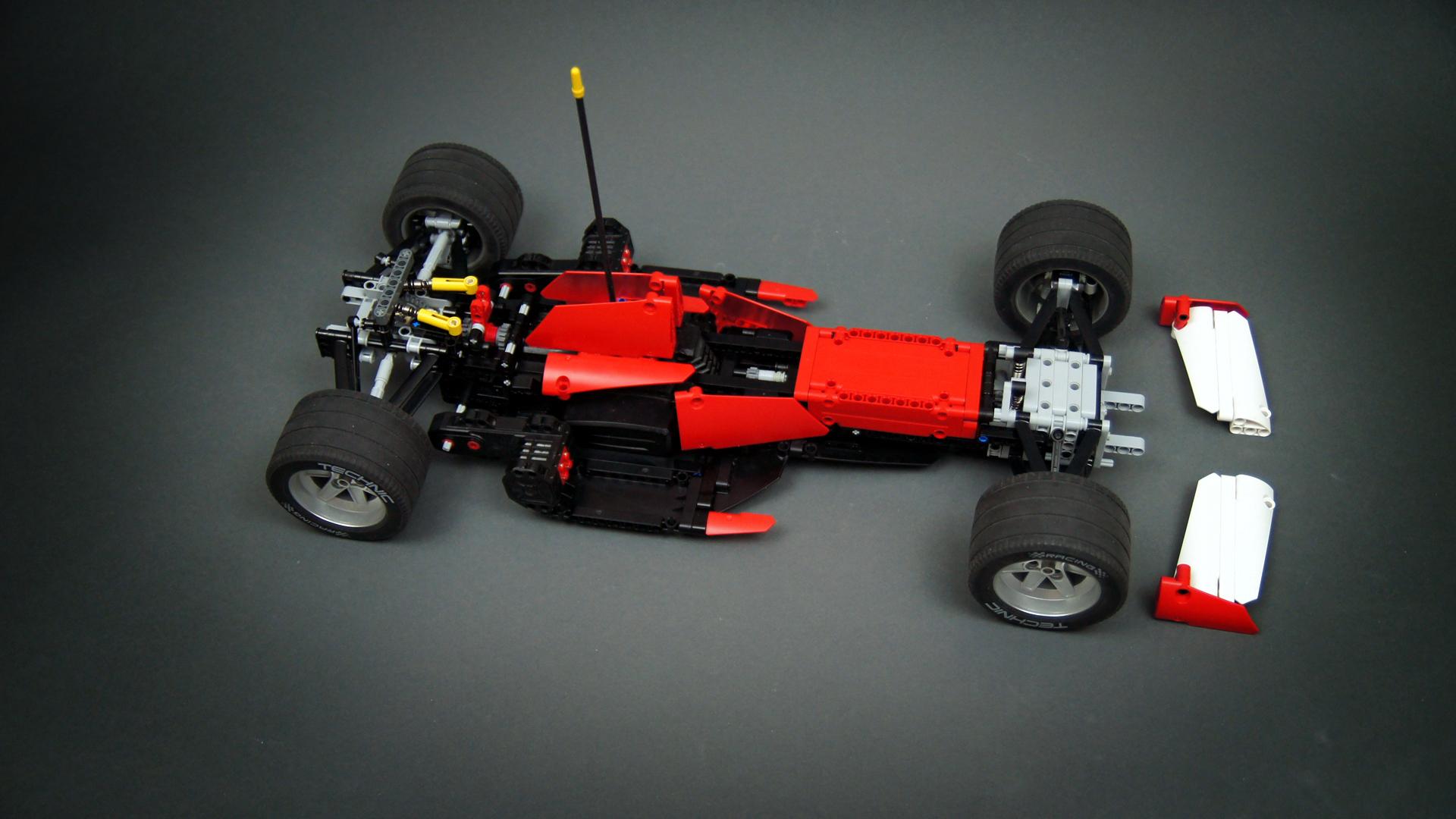 f1 car lego technic mindstorms model team. Black Bedroom Furniture Sets. Home Design Ideas