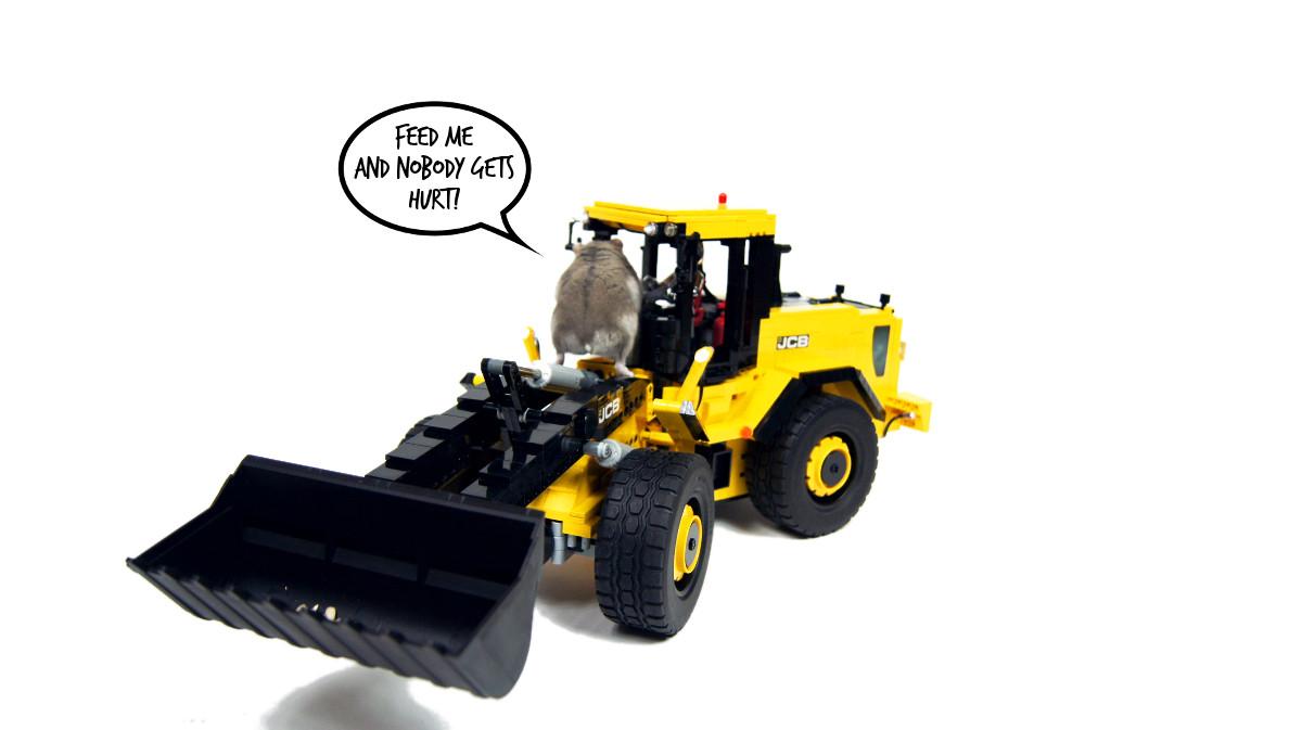 sariel pl jcb 456 front end loader