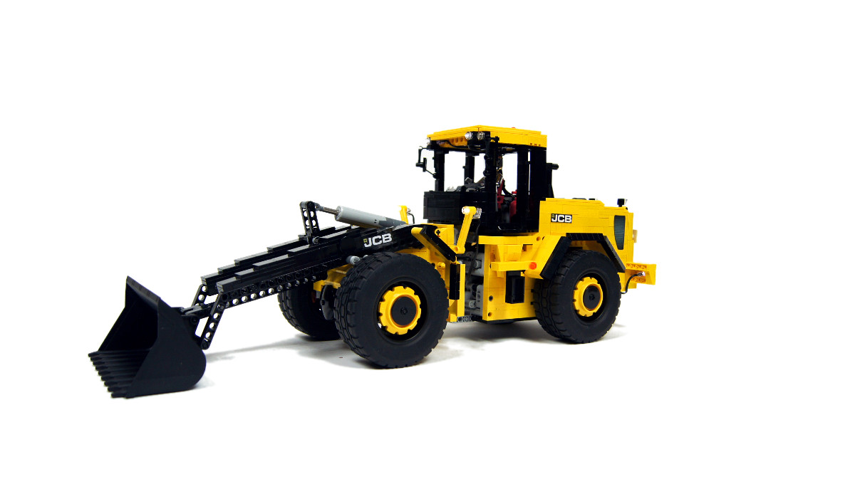 sariel pl jcb 456 front end loader