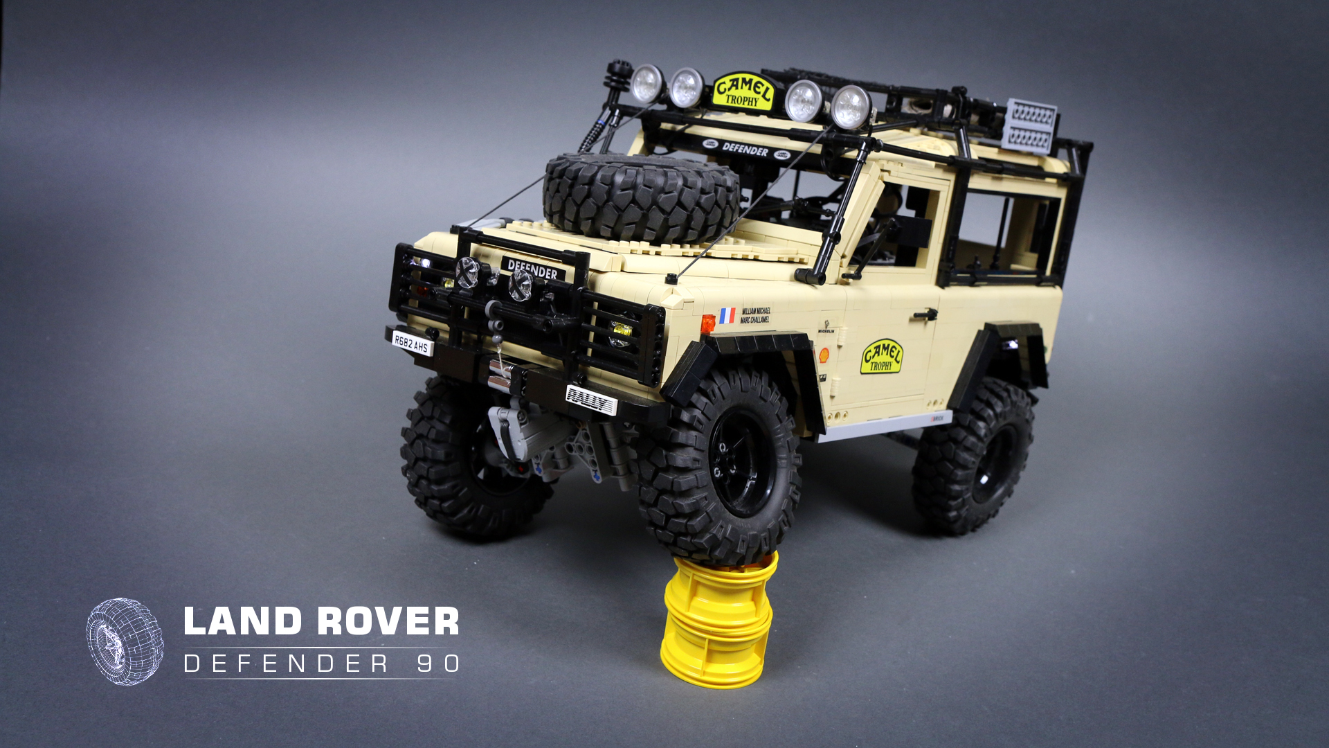 lego land rover defender 90 instructions