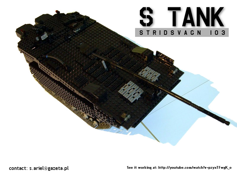 sariel 39 s dozen lego technic tank models lego technic mindstorms model team eurobricks forums. Black Bedroom Furniture Sets. Home Design Ideas