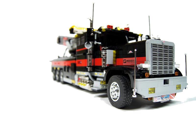 Technic delicatessen sariel 39 s brutal tow truck for Miroir tow n see