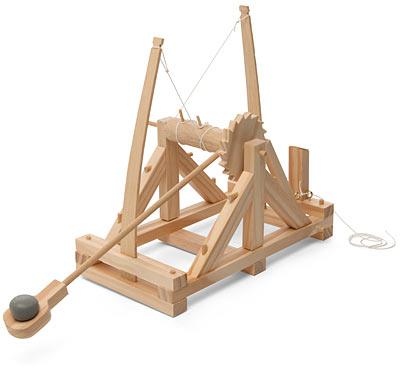 Da vinci s catapult for Catapulta di leonardo da vinci
