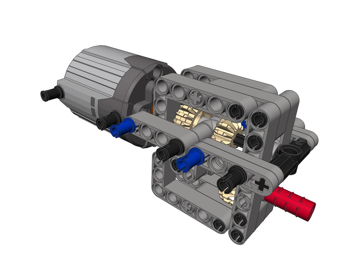 Sariel 2 Speed Heavy Duty Linear Gearbox