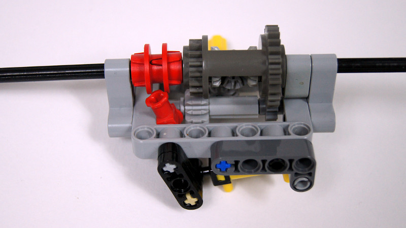 Sariel pl » Compact Axle With a Differential Lock