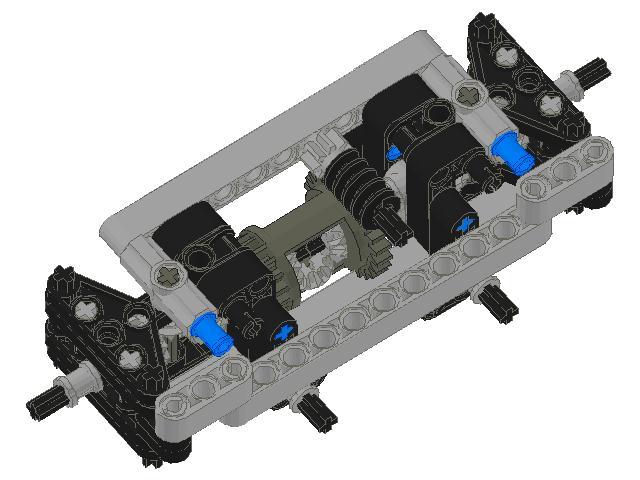 Sariel Compact Pendular Steered Suspension