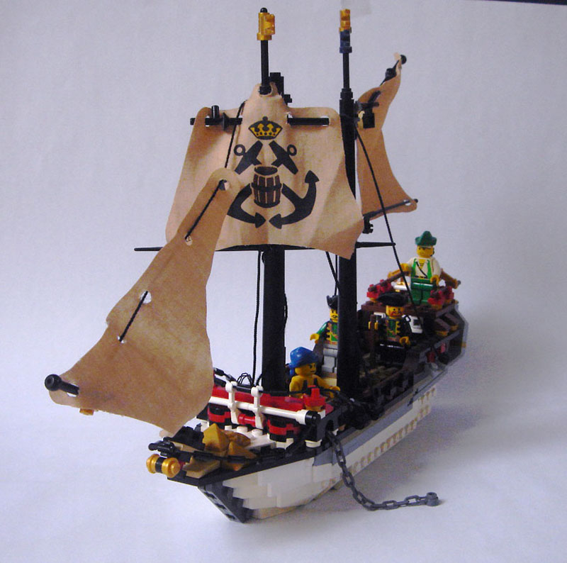 Tips On Building Ships Bow Lego Pirates Eurobricks Forums