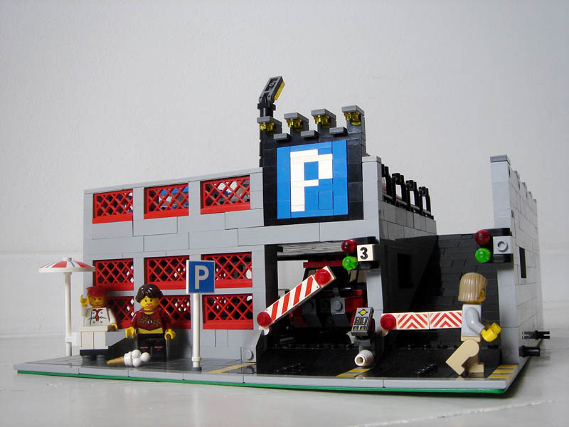 Modular Madness Parking Lot Lego Town Eurobricks Forums