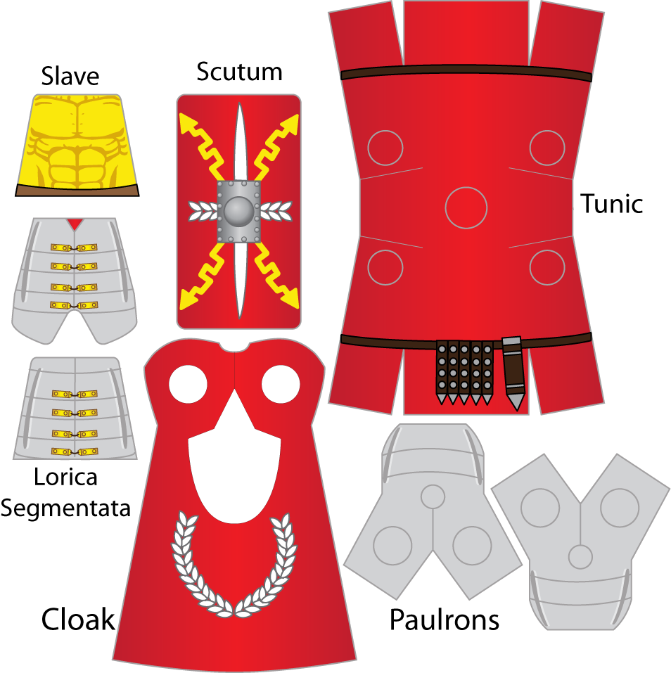 Как сделать для лего человечка костюм