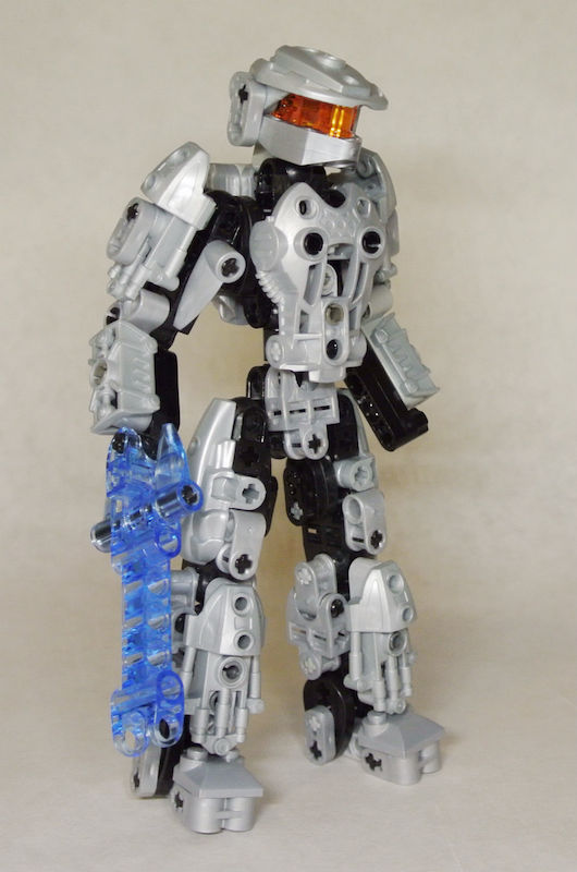 Bbc 67 halo tiny co op bionicle based creations bzpower - Lego spartan halo ...