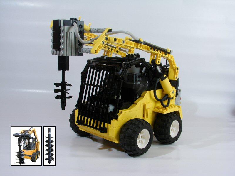 Lego Technic Bobcat >> Brickshelf Gallery - 3.jpg