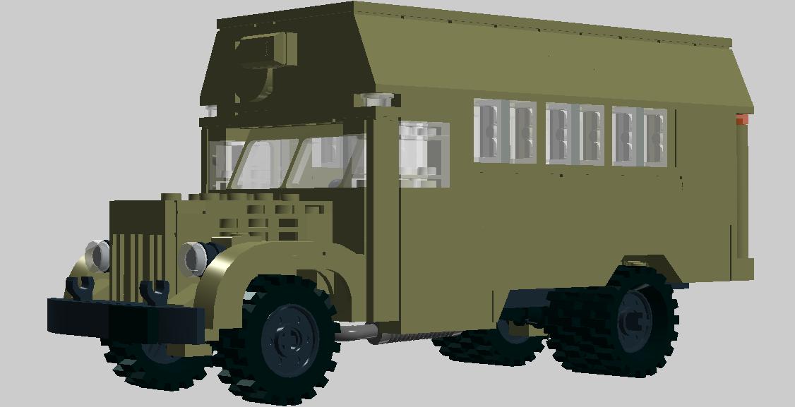 Компрессорная на шасси МАЗ-200