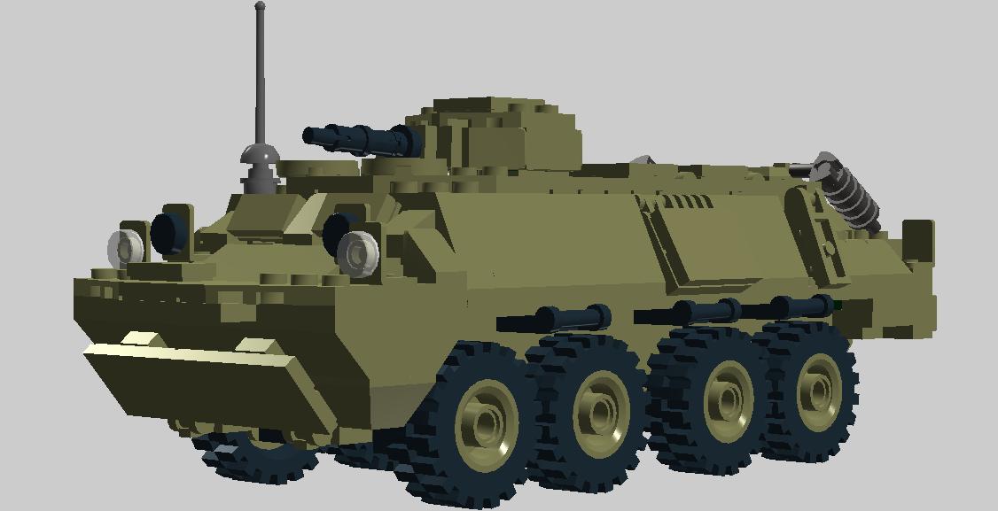 удачным вариантом БТР-60 и