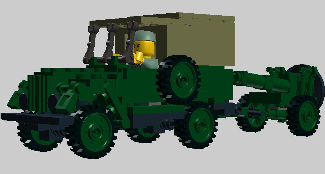 Армейский автомобиль
